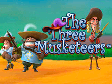 Играть в The Three Musketeers онлайн на деньги в казино